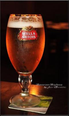 Stella Artois Beer Glass Art Poster 11x17 Mini Poster