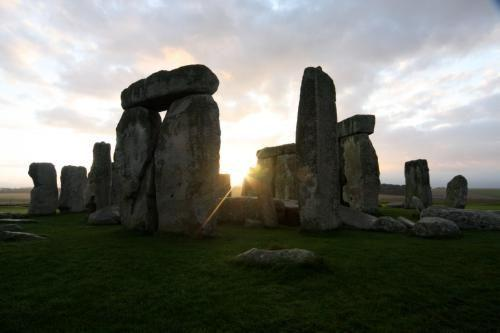 Stonehenge Photo Sign 8in x 12in