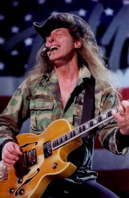 Ted Nugent poster tin sign Wall Art