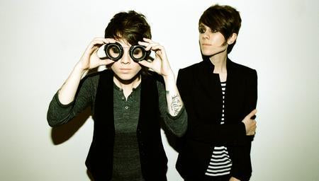 Tegan And Sara Photo Sign 8in x 12in