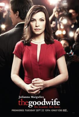 The Good Wife poster tin sign Wall Art