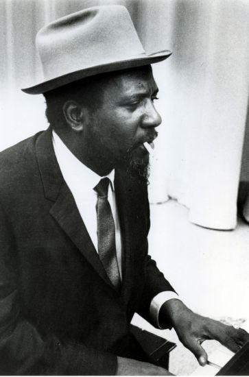 Thelonious Monk Photo Sign 8in x 12in