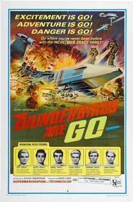 Thunderbirds Are Go Photo Sign 8in x 12in