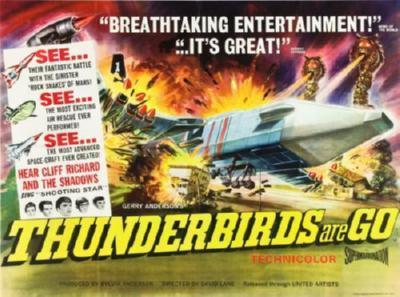 Thunderbirds Are Go poster tin sign Wall Art