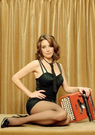Tina Fey Photo Sign 8in x 12in