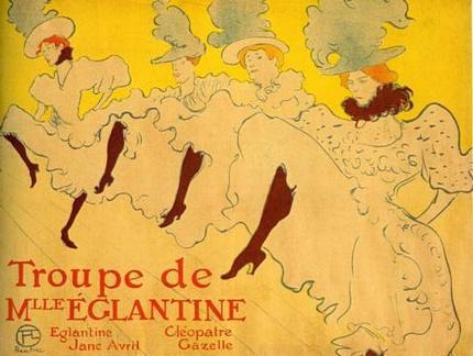 Toulouse Lautrec poster tin sign Wall Art