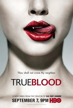 True Blood Promo poster tin sign Wall Art