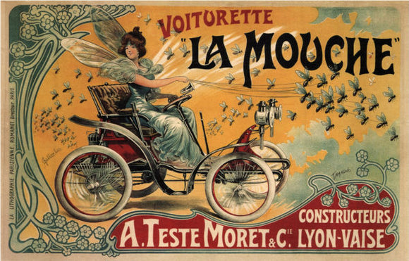 Other Subjects Posters, voiturette la mouche