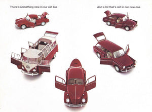 Aviation and Transportation Posters, volkswagen ad 1961