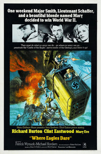 Movie Posters, where eagles dare