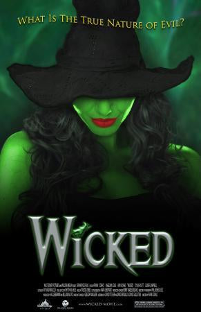 Wicked Theater Show Art Photo Sign 8in x 12in