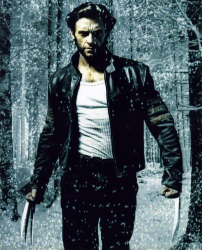 Hugh Jackman Photo Sign 8in x 12in