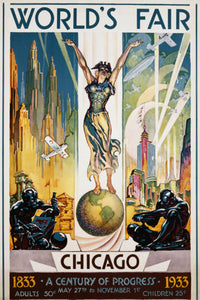 Other Subjects Posters, worlds fair 1933 chicago