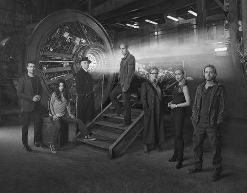 12 Monkeys black and white poster