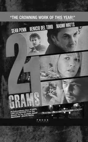"21 Grams Poster Black and White Mini Poster 11""x17"""