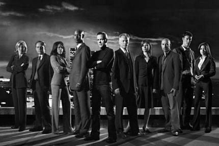 "24 Cast Poster Black and White Mini Poster 11""x17"""