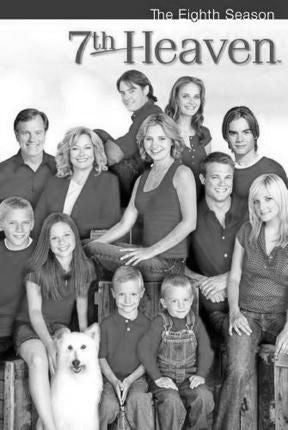7Th Heaven Poster Black and White Mini Poster 11