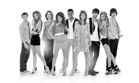 90210 Poster Black and White Mini Poster 11