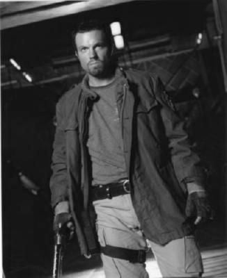 Adam Baldwin Poster Black and White Mini Poster 11