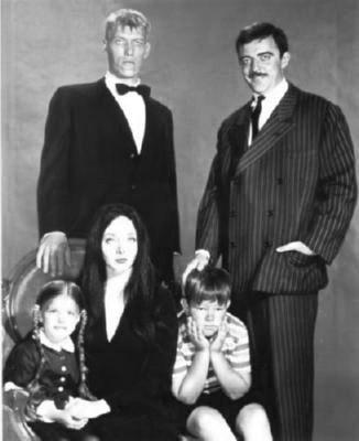 Addams Family Poster Black and White Poster 16