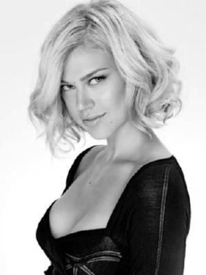 Adrianne Palicki Poster Black and White Mini Poster 11