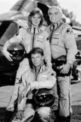 Airwolf Poster Black and White Mini Poster 11