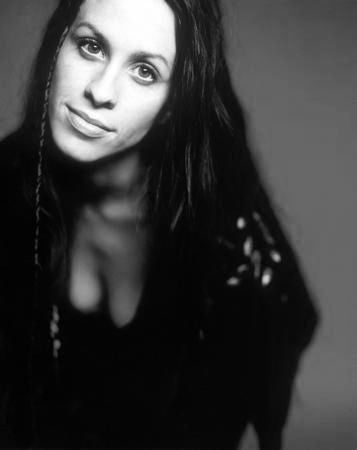 Alanis Morissette Poster Black and White Mini Poster 11
