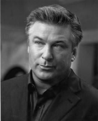Alec Baldwin Poster Black and White Mini Poster 11