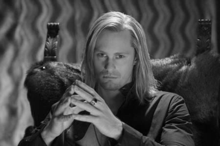 Alexander Skarsgard Poster Black and White Mini Poster 11