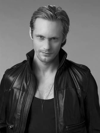 Alexander Skarsgard Eric True Blood Poster Black and White Mini Poster 11