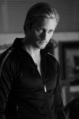 Alexander Skarsgard Poster Black and White Poster 16