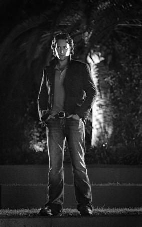 Alex O'Loughlin Poster Black and White Mini Poster 11