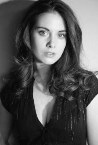 Alison Brie Poster Black and White Mini Poster 11