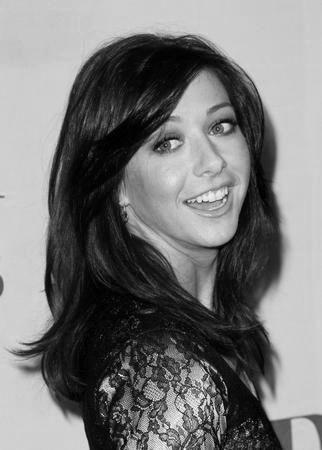 Alyson Hannigan black and white poster