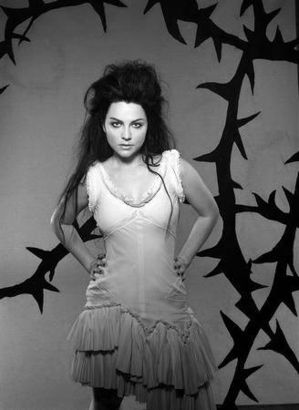 Amy Lee Poster Black and White Poster 27