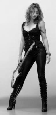 Ana Popovic black and white poster