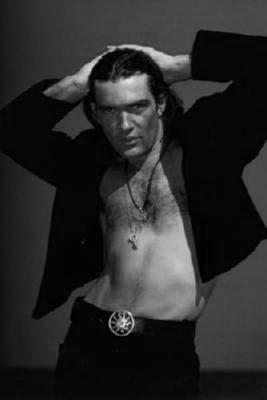 Antonio Banderas Poster Black and White Poster 27