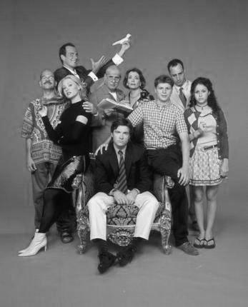 Arrested Development black and white poster