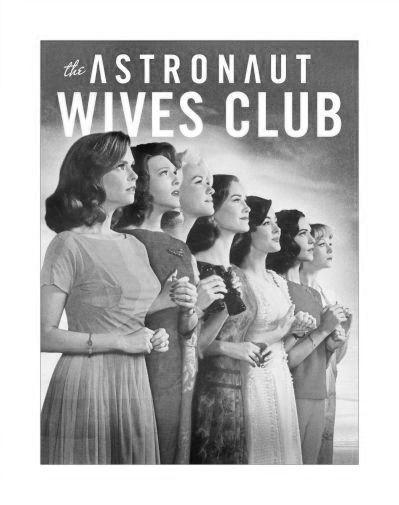 Astronaut Wives Club The Poster Black and White Poster 27