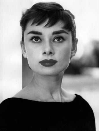 Audrey Hepburn Poster Black and White Mini Poster 11
