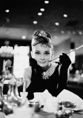 Audrey Hepburn Poster Black and White Poster 27