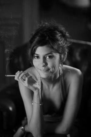 Audrey Tautou Poster Black and White Mini Poster 11