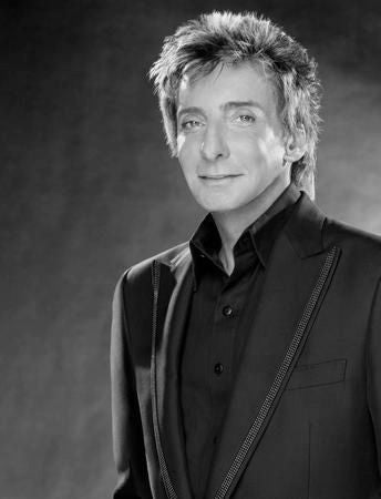 Barry Manilow Poster Black and White Mini Poster 11