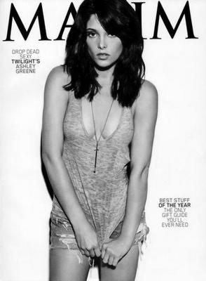 Ashley Greene Poster Black and White Mini Poster 11