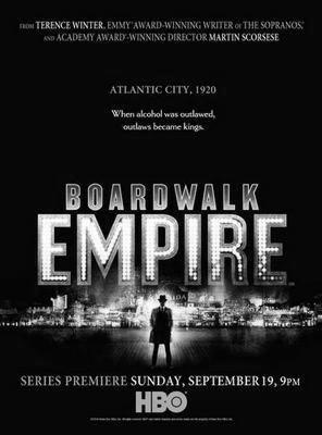 Boardwalk Empire poster tin sign Wall Art