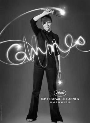 Cannes Festival Poster Black and White Mini Poster 11