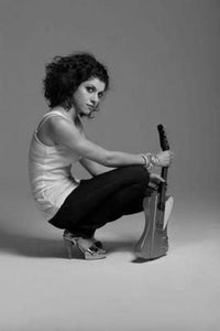 Carrie Rodriguez black and white poster