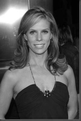 Cheryl Hines black and white poster