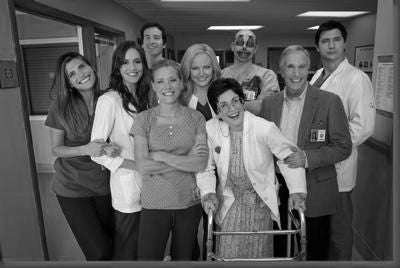 Childrens Hospital Poster Black and White Mini Poster 11