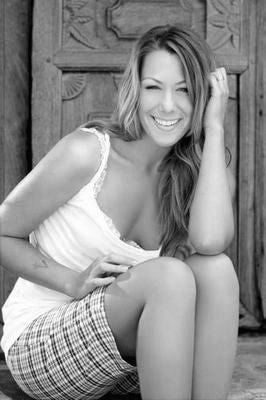 Colbie Caillat Poster Black and White Mini Poster 11